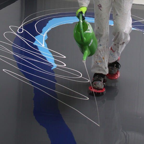 Farebná liata podlaha Arturo - dizajnovepodlahy.sk