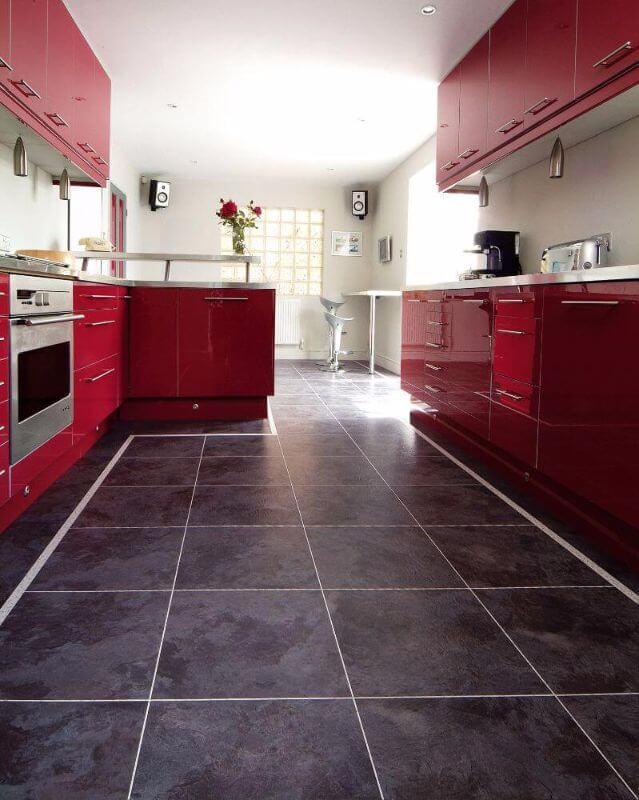 Vinylová podlaha v kuchyni - dizajnovepodlahy.sk