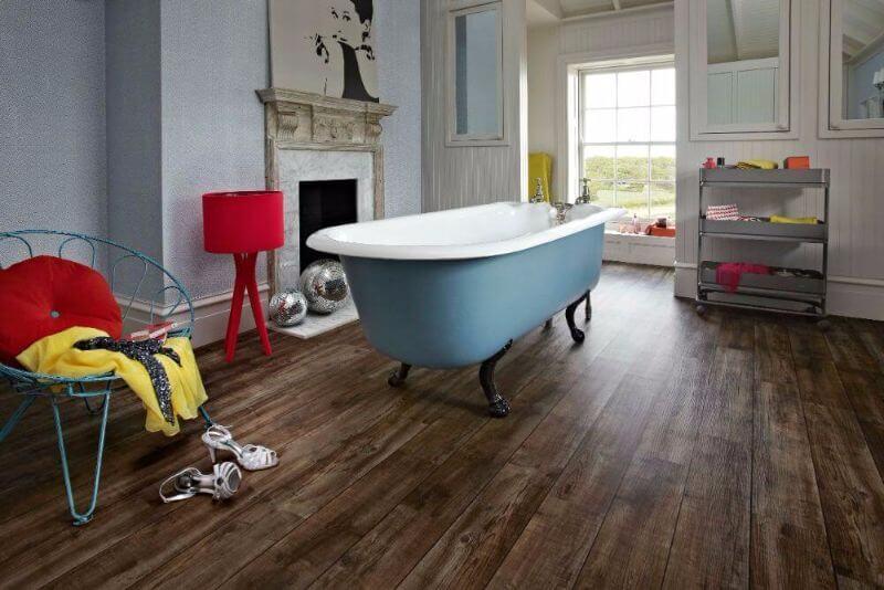 Vinylová podlaha kúpeľňa - dizajnovepodlahy.sk
