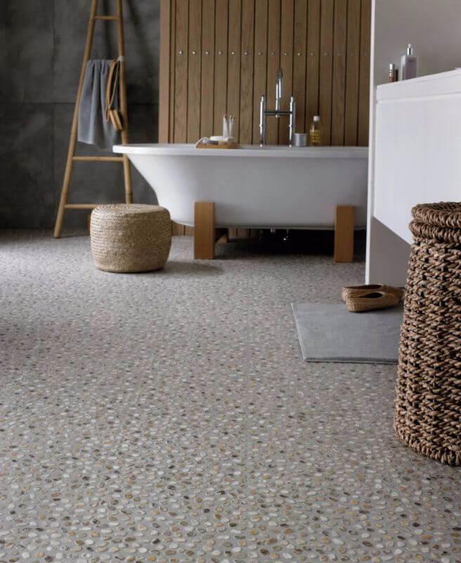 Vinylová podlaha kúpeľňa - kameň - dizajnovepodlahy.sk