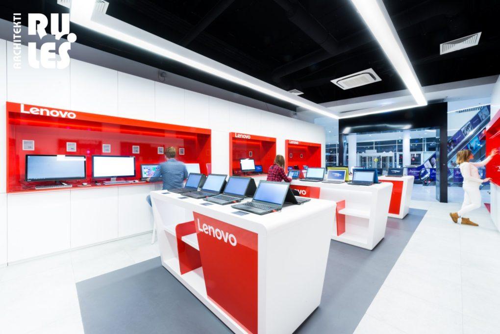 Predajňa Lenovo, Bratislava, Bory - dizajnovepodlahy.sk