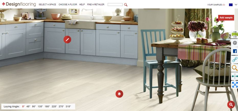 Pozrite si jednotlivé dekory priamo v kuchyni vďaka konfigurátoru