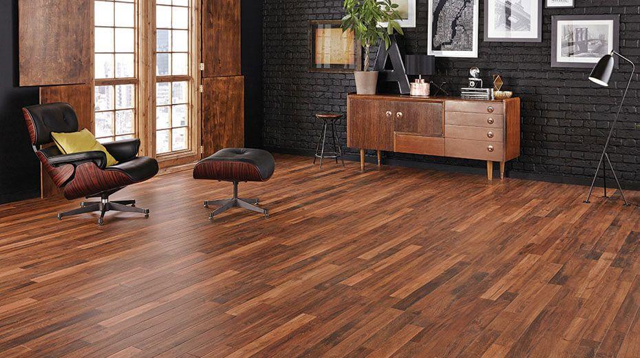 Drevena podlaha v industriálnom štýle - Monet RP104 Smoked Acacia