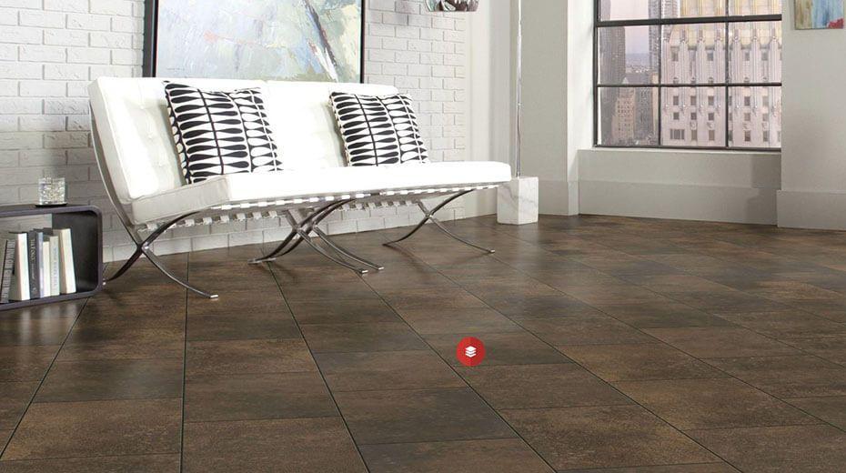 Industriálne ladená obývačka - Monet CER13 Eisen
