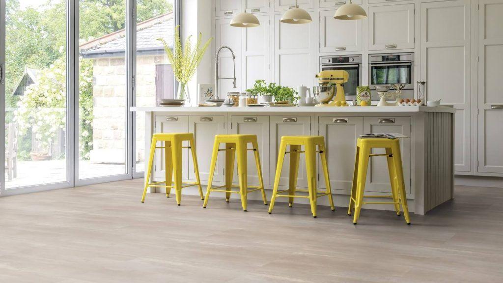 Industrialna podlaha v kuchyni