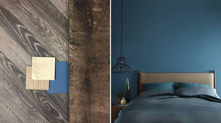 Ako zladiť modrú farbu s vinylovou podlahou